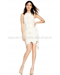 I Will Wait Ivory Lace Dress