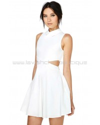 Keep Your Cool White Dress
