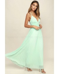 Depths Of My Love Mint Maxi Dress