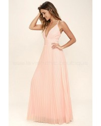 Depths Of My Love Peach Maxi Dress