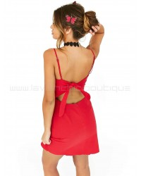 Tequila Sunrise Dress Red