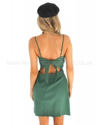 Tequila Sunrise Dress Green