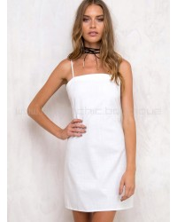 Tequila Sunrise Dress White
