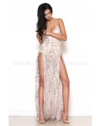 Casino Royale Gown Nude