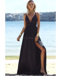 Catwalk Maxi Dress Black