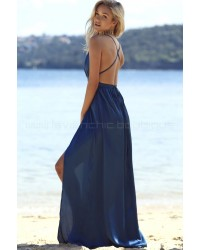 Catwalk Maxi Dress Blue