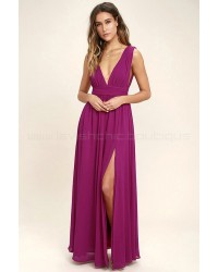 Heavenly Hues Magenta Maxi Dress