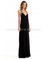 Wilma Maxi Dress with Low Back