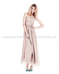 Grecian One Shoulder Dress Conscious Prom Wedding