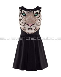 Tiger Cotton Dress