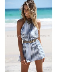 Cassi Stripe Playsuit
