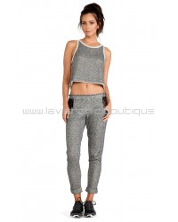 Fit Lasercut Sweatpant