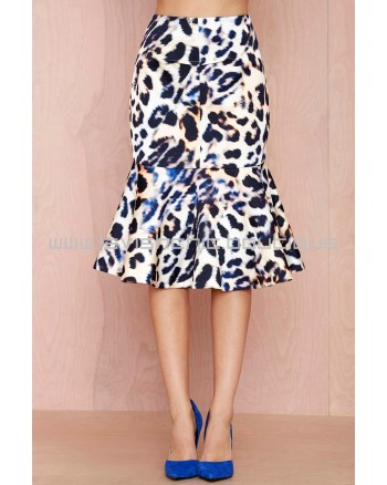 Cameo No Diggity Leopard Skirt