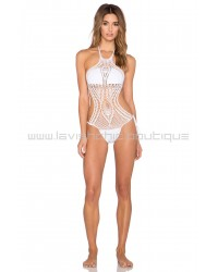 Lisa Maree Instant Success Crochet One Piece In White