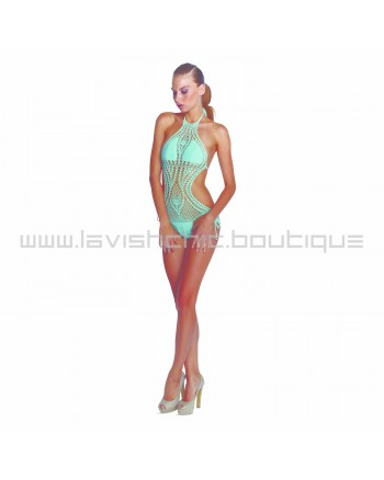 Lisa Maree Instant Success Crochet One Piece In Mint