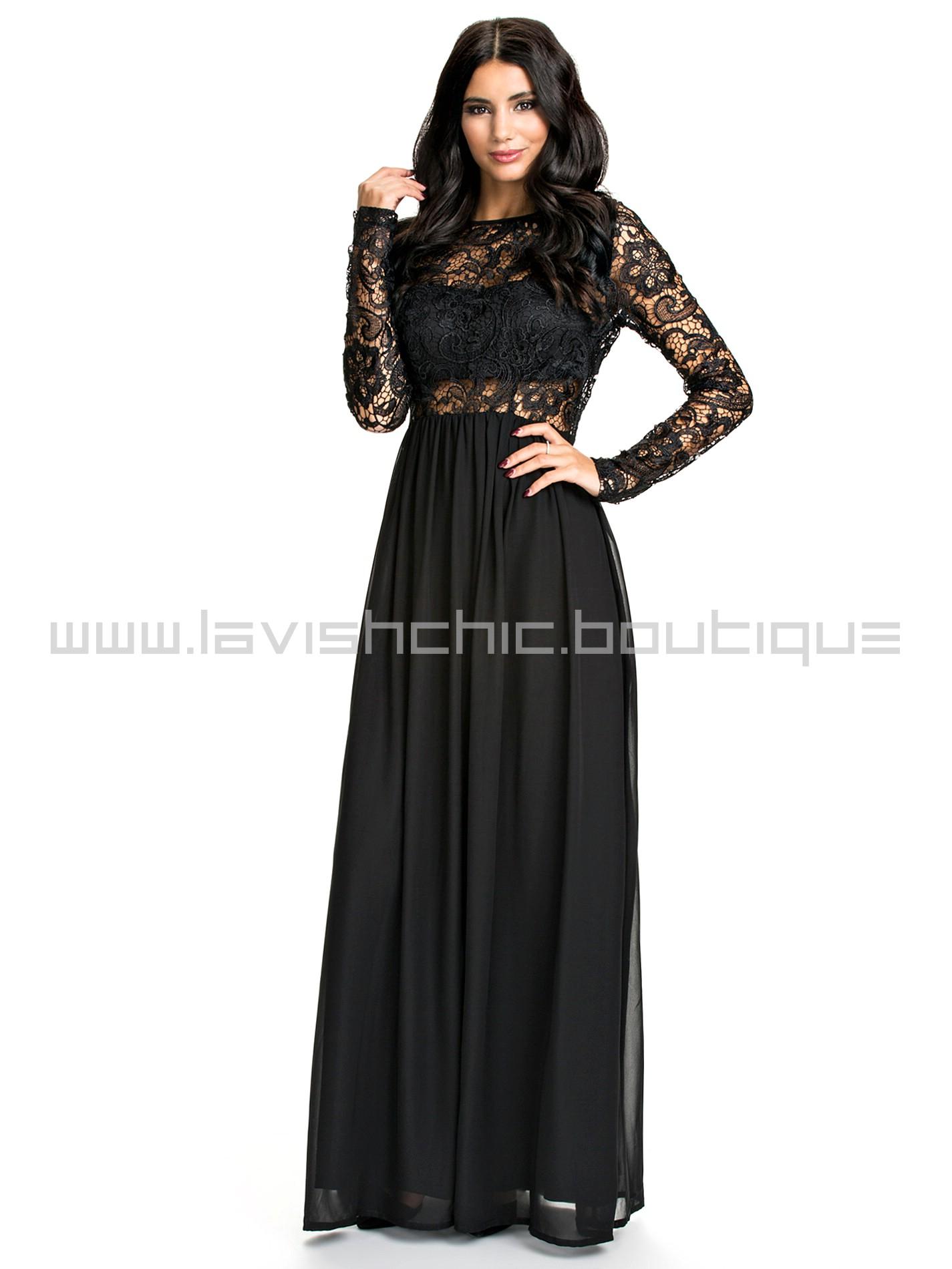 Black Lace Dresses