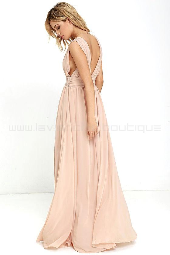 4d98fda548 Heavenly Hues Blush Maxi Dress