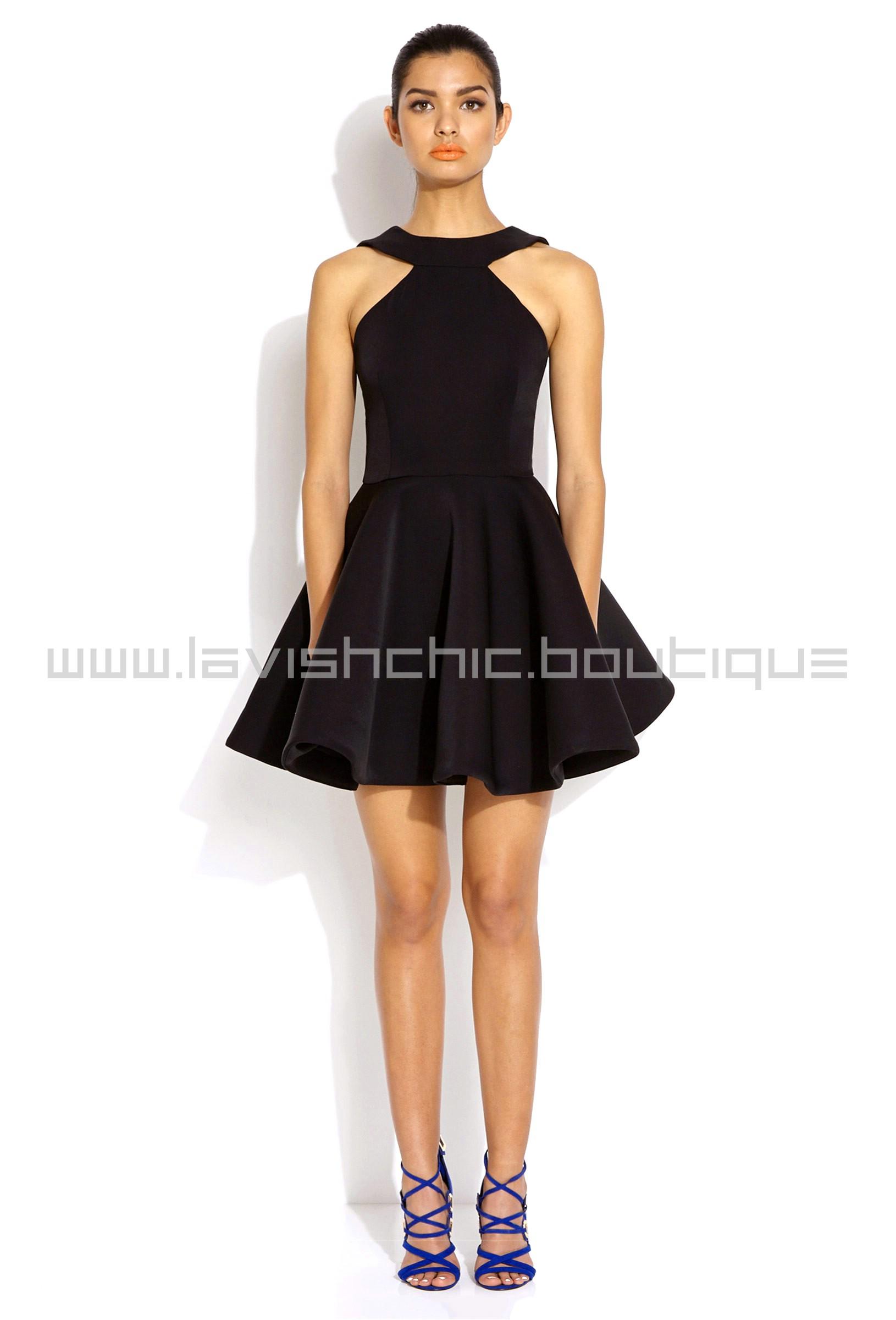Платье С Пышной Юбкой Купить Черное